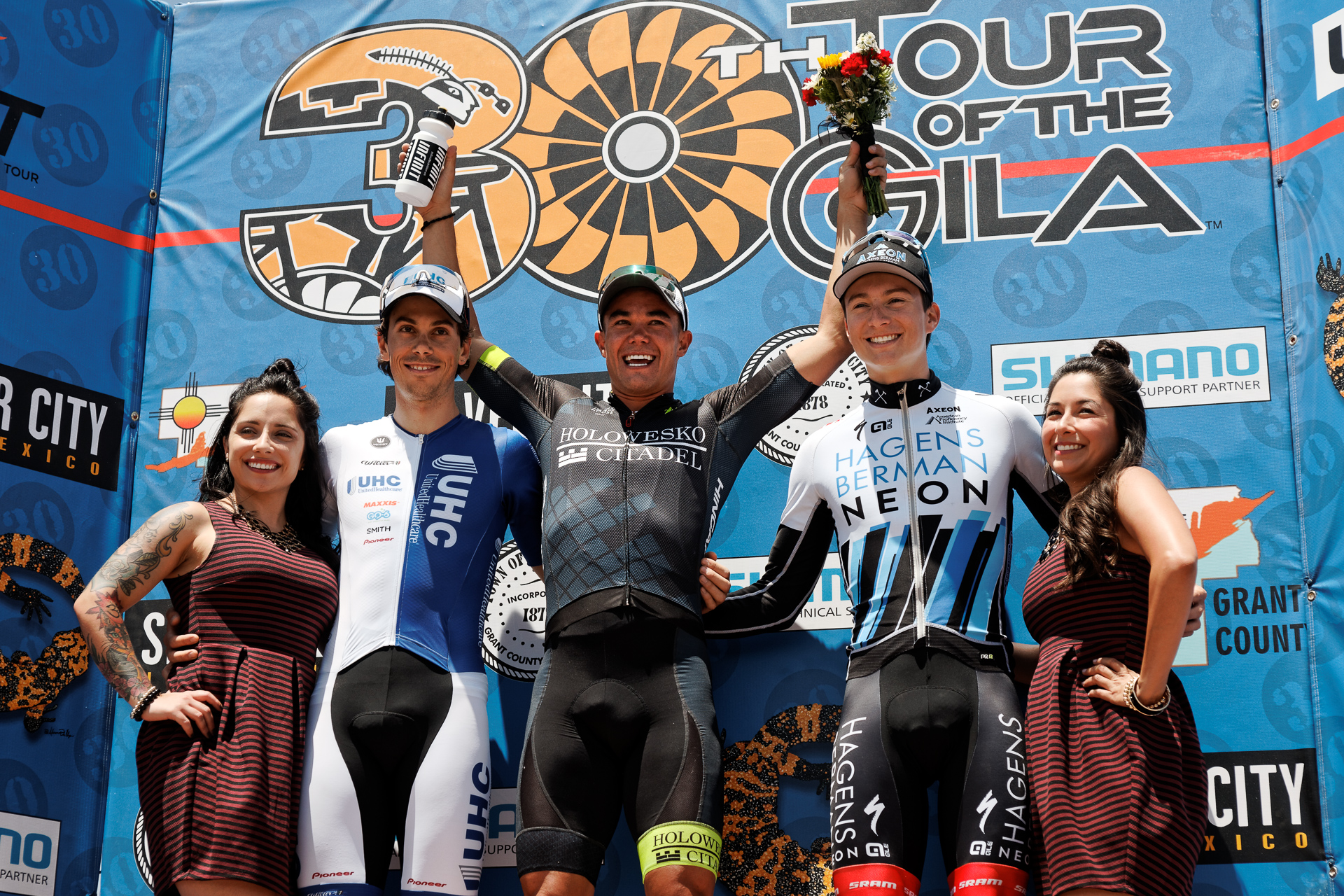 Neilson powless takes 3rd gila stage2